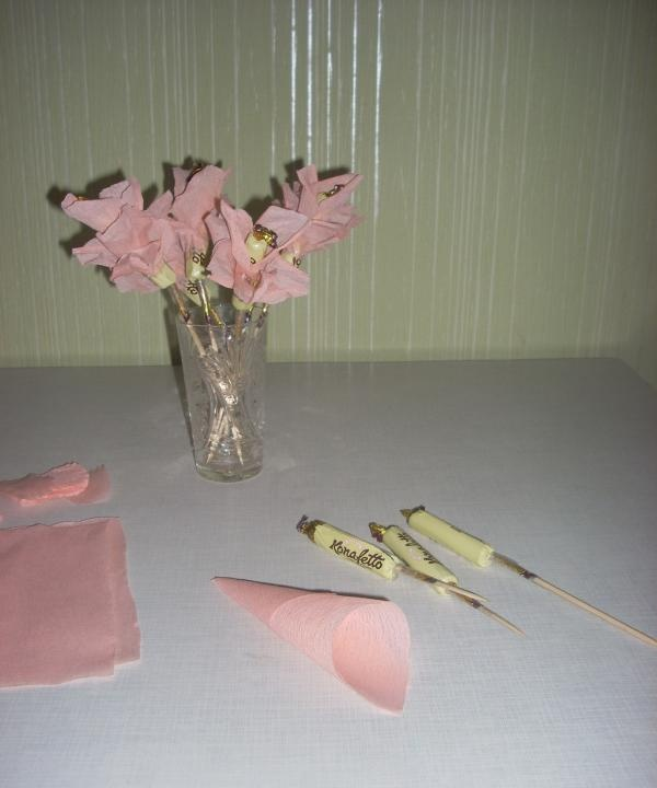 DIY μπουκέτο καραμέλα