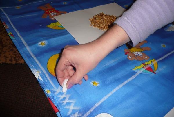 Massage mat for baby