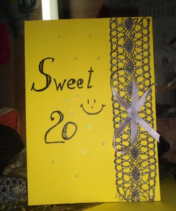 Cartão de felicitações