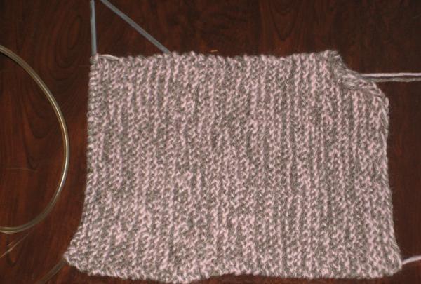 tricotat după cum urmează
