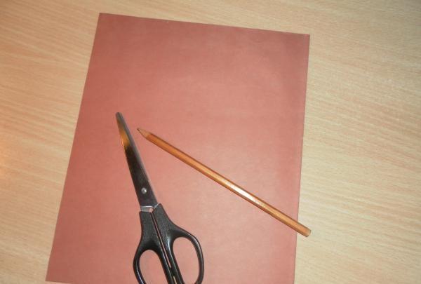 foarfece de creion de hârtie