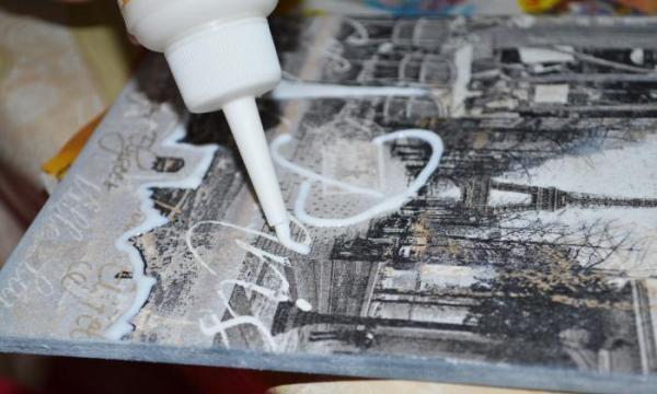 3Dpatch lub przezroczysty kontur wolumetryczny