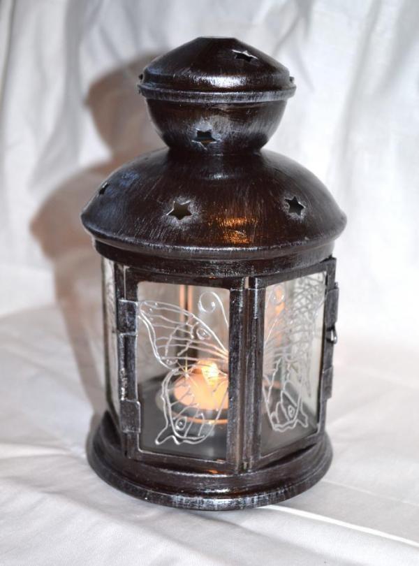 Sfeșnic lanternă