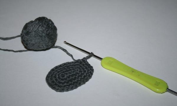 tricotează încă trei rânduri