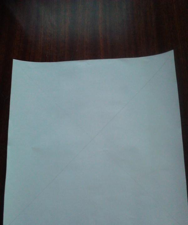 kahverengi kağıt kare