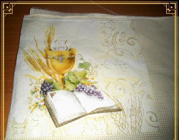 Påske serviet