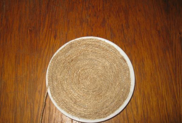 spodek i kubek sznurka