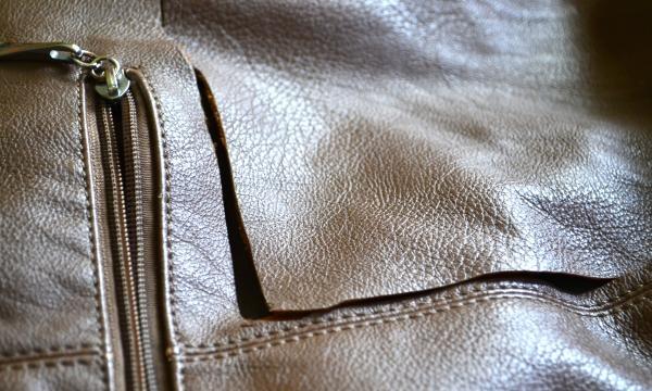 kolczyki ze starej torebki
