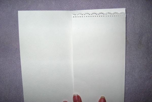Koperta karty ślubu