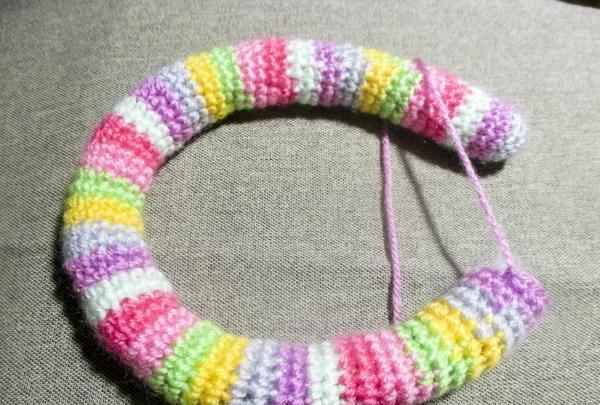 strikket patch