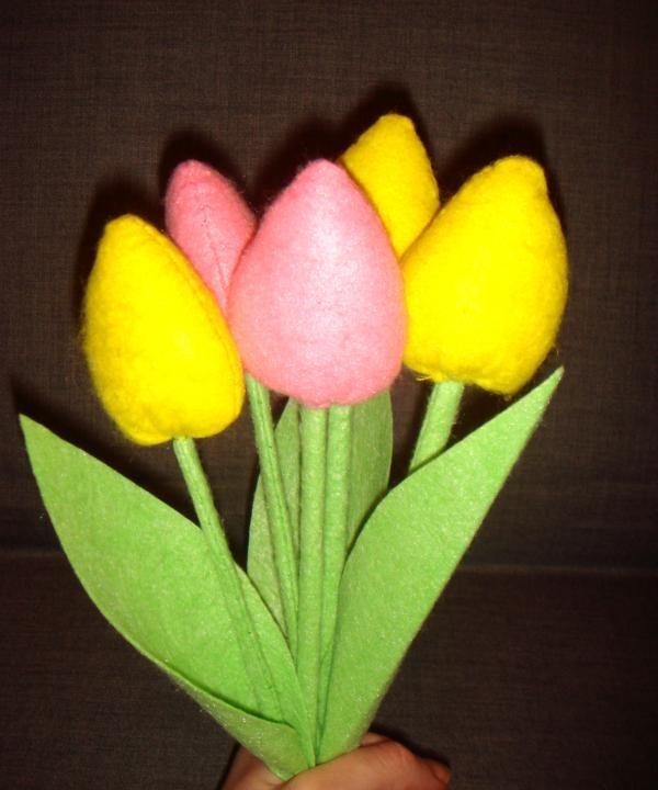 Stof tulipaner