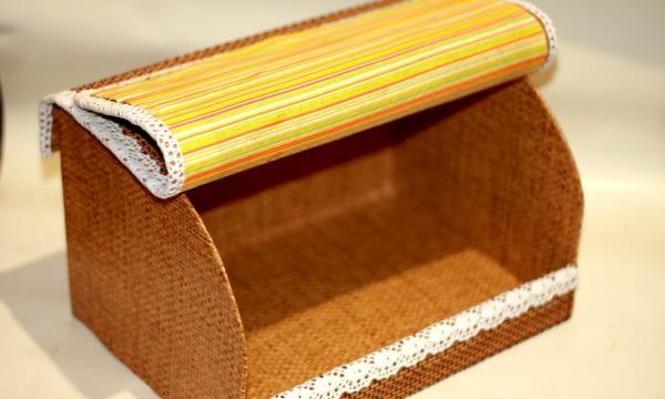 Bambus serviet brødboks