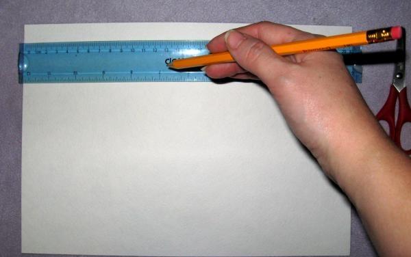 Klip ud af vandfarvepapir