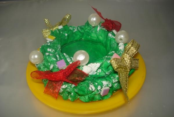 świecznik do ciasta solnego