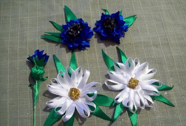 saç tokası kır çiçekleri
