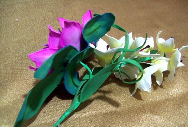 dekorere briller med blomster