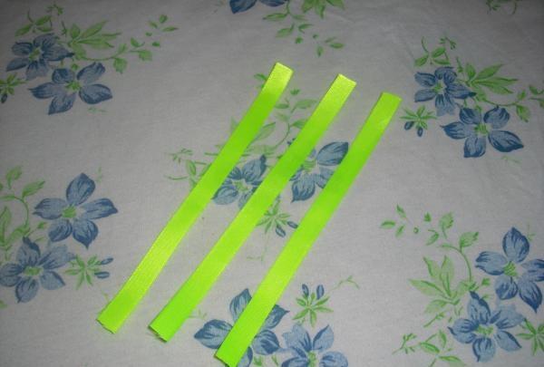 klip tre lange strimler