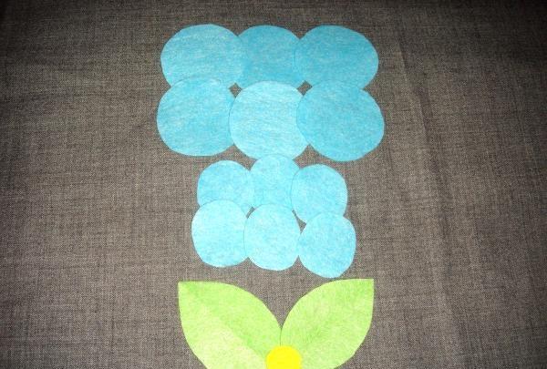 Fleece Flower pandebånd