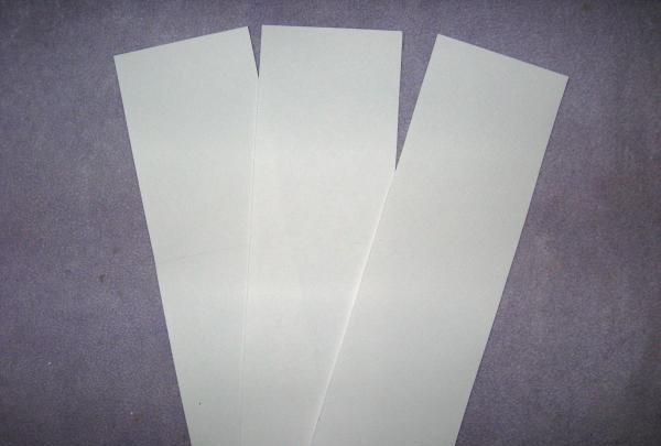 cortar três retângulos