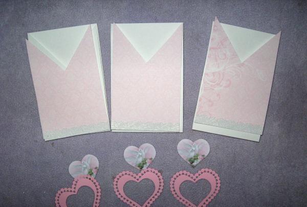 Convites de casamento envelope