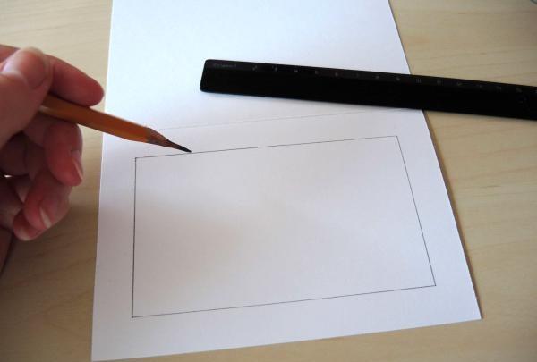 tegne en ramme