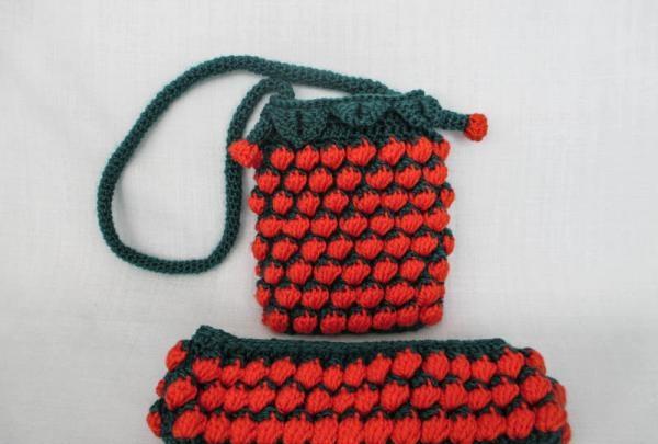 Håndtaske og pandebånd