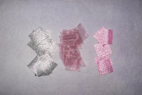 Vi måler 19 firkanter sølv