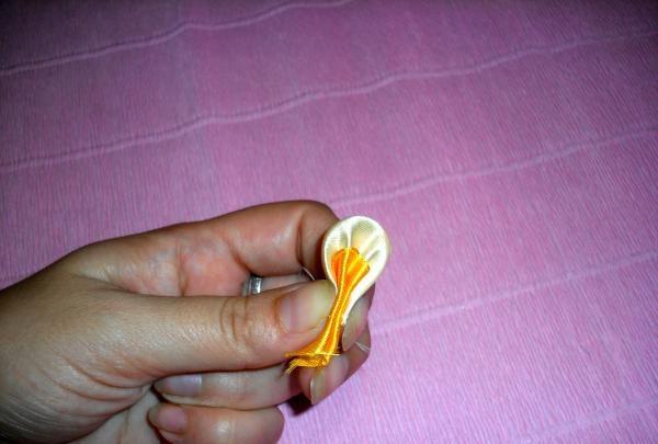 Gummibånd til stemplet hår