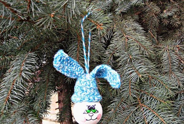 Juletrælegetøj fra en pære
