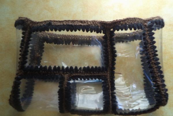 strand taske lavet af plastflasker