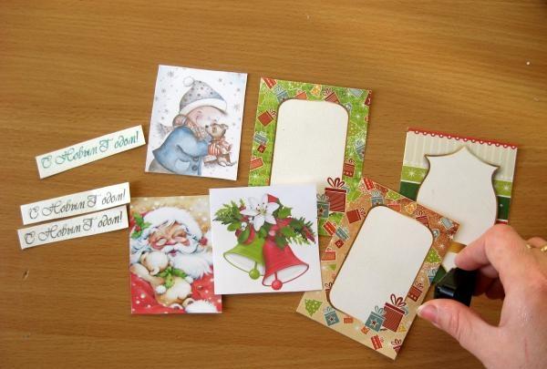 Postkort gør-det-selv-huse