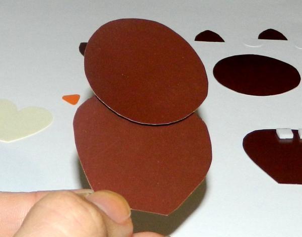 DIY Eulen-Postkarte