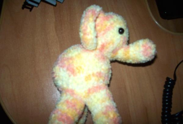 flerfarvet elefant