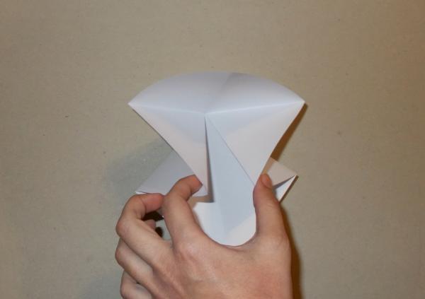 Bảng điều khiển hoa Origami