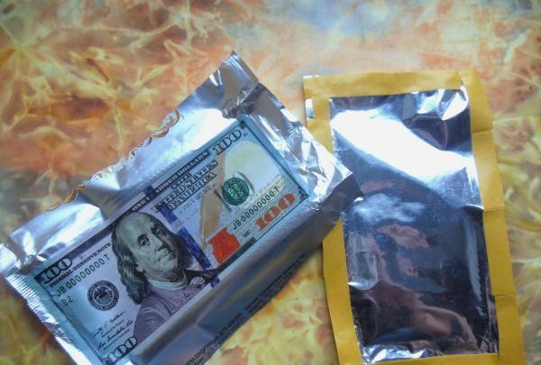 Chokoladeindpakningskasse