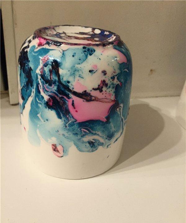 unikalna dekoracja kubka