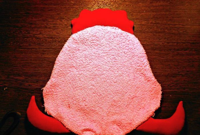 Poduszka zabawka Kogucik