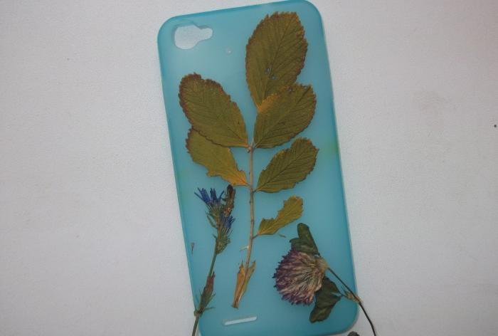 decorar a capa com folhas de outono