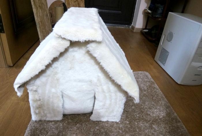 Como fazer uma casa de gato