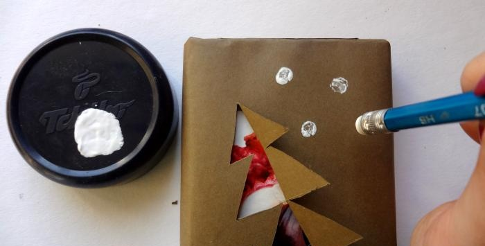 Vintage New Year Gift Wrapping