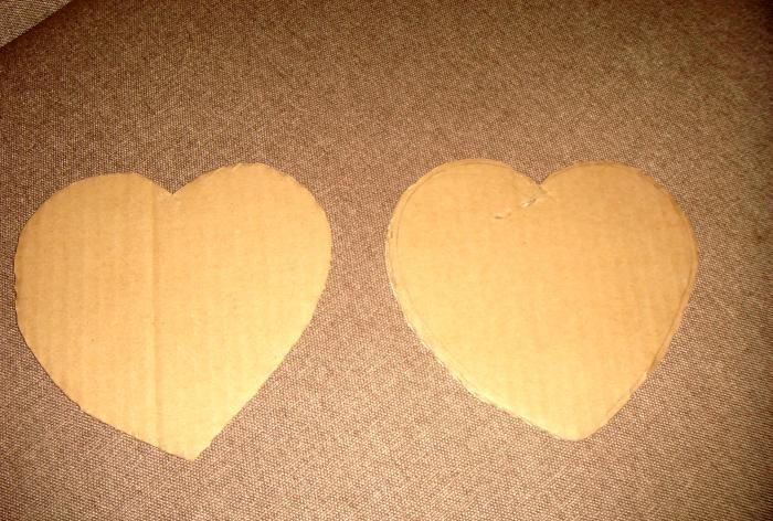 Pudełko w kształcie serca