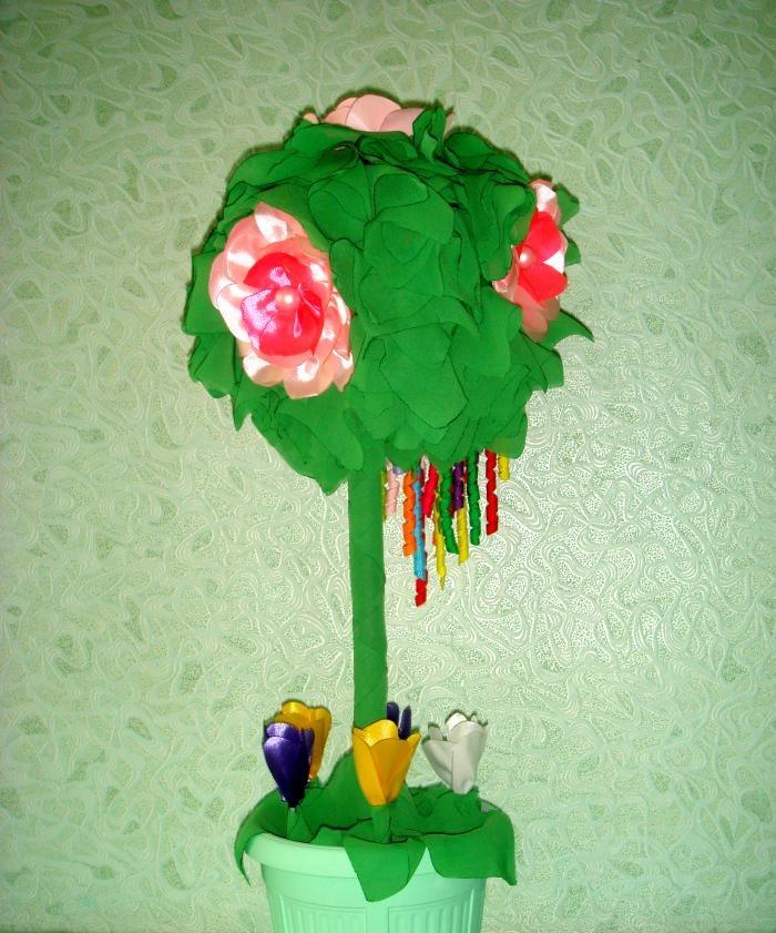 Wiosenny topiary