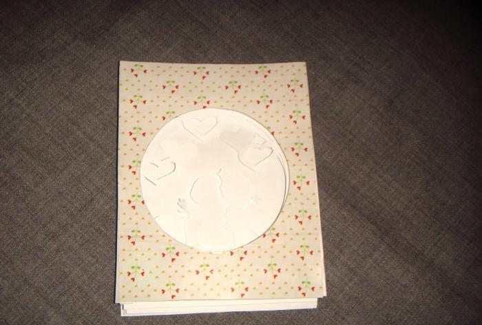 Túnel de cartão postal My love