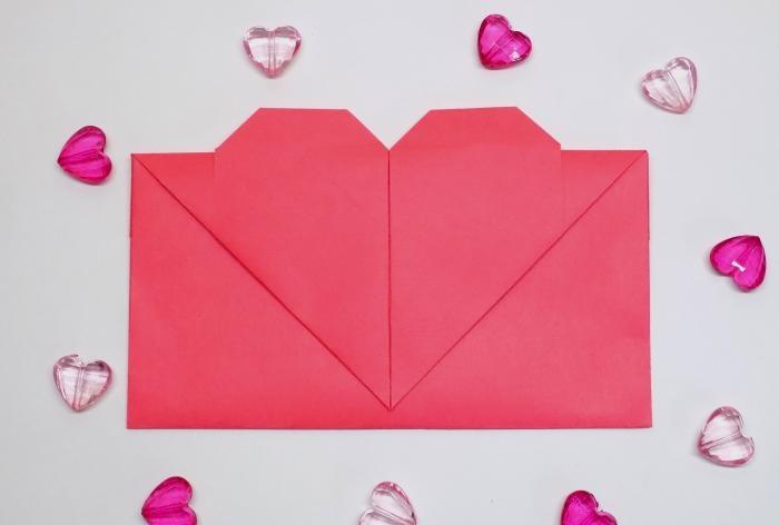 Envelope com um coração