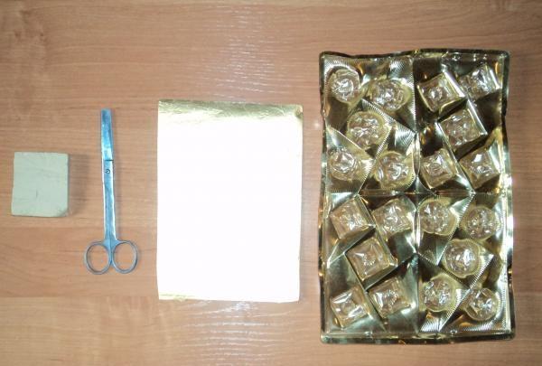 cutie de bomboane goale