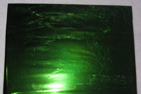 înveliți cu folie verde
