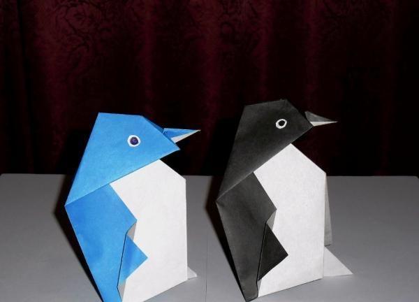 Pinguin din hârtie