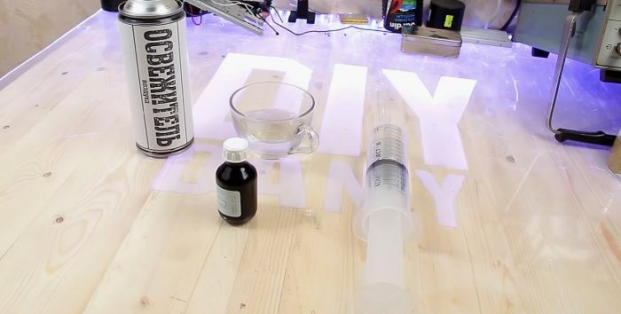 DIY aerosol freshener