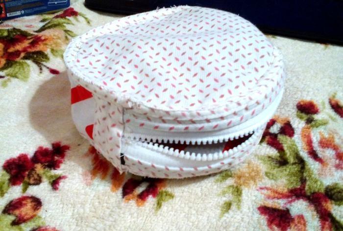 DIY torebka tamburyn