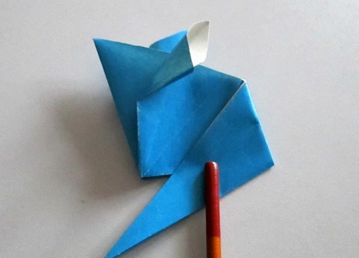 Jak zrobić mysz z papieru